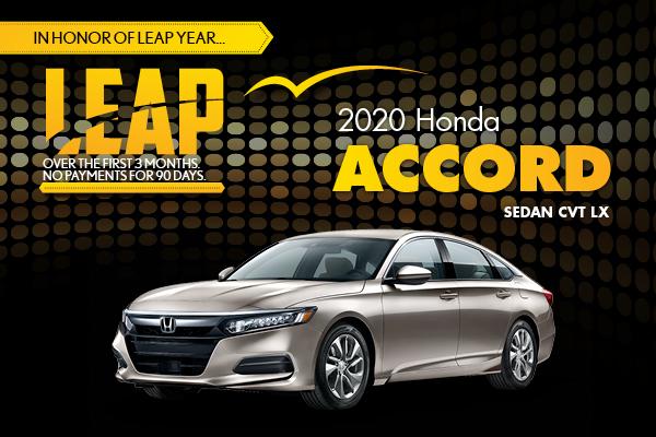 2020 Honda Accord Sedan CVT LX