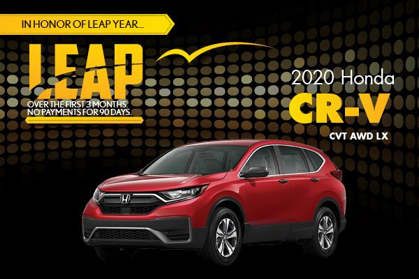 2020 Honda CR-V CVT AWD LX