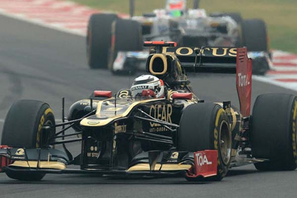 lotus f1 team suffers disappointment