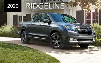 silver 2020 honda ridgeline