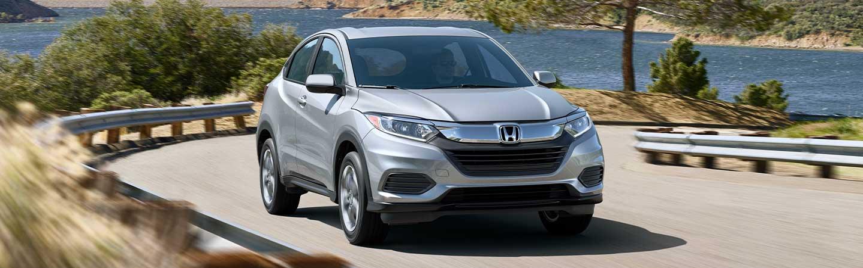 2020 Honda HR-V driving along coast