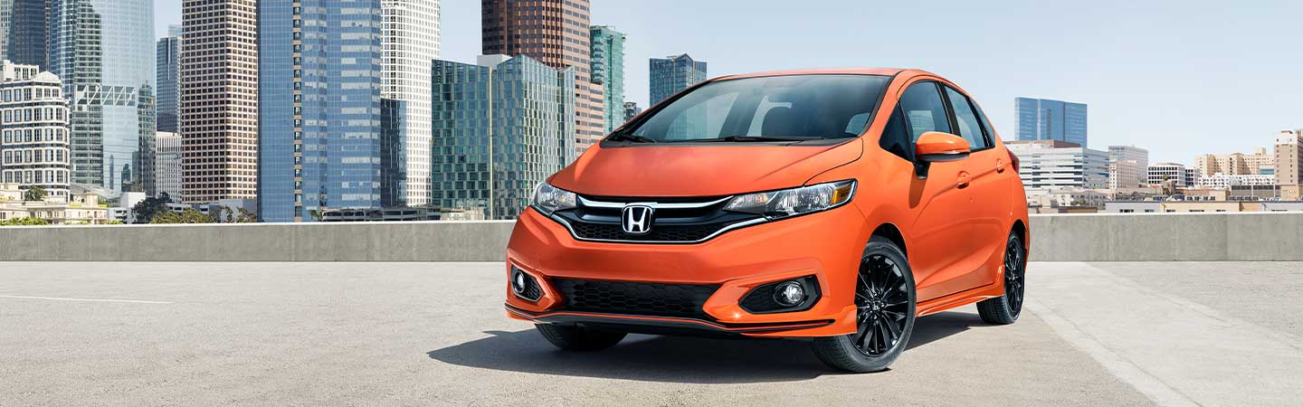 2020 Honda Fit parked
