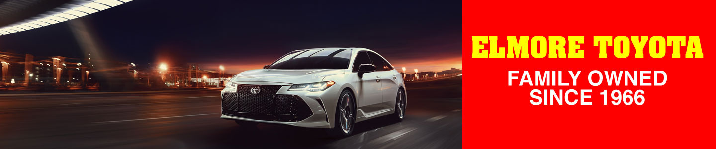 Visit Elmore Toyota And Meet The 2020 Toyota Avalon Sedan