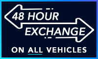 48 hour exchange on all vehicles