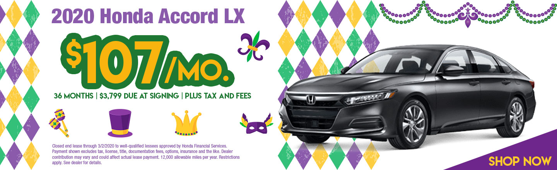 2019 Accord LX CVT