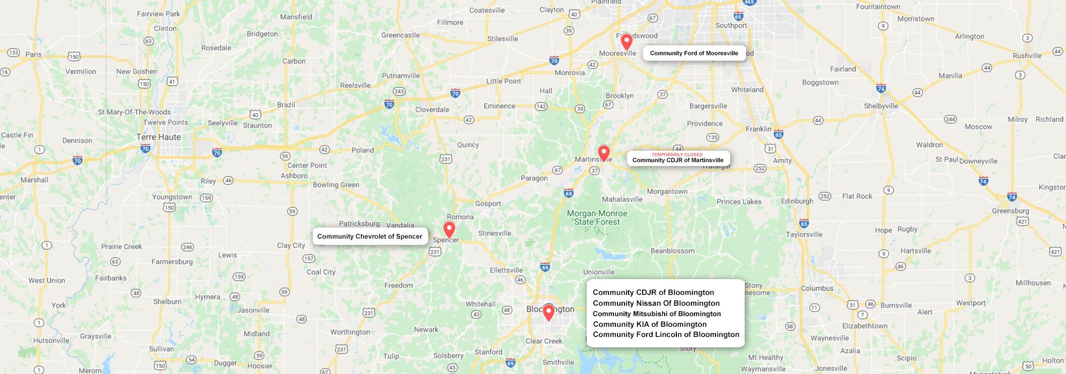 Car Dealership Group Serving Bloomington & Surrounding Indiana Cities
