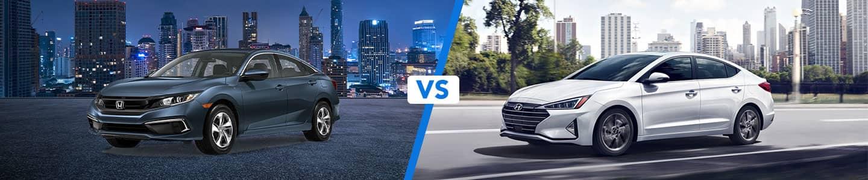 Discover How the 2020 Honda Civic and the 2020 Hyundai Elantra Compare