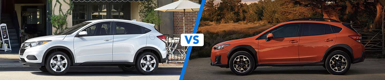 Crossover Comparison: 2020 Honda HR-V Vs. 2020 Subaru Crosstrek