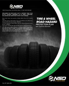TIRE & WHEEL ROAD  HAZARD