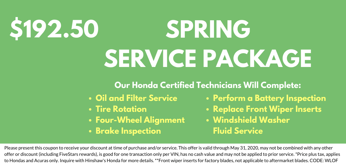 Spring Service Package