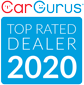 2020 car gurus dealer rated