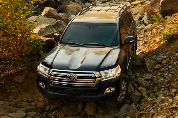 2020 Toyota Land Cruiser Specs & Safety Features