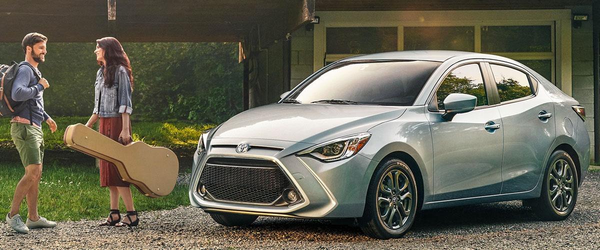 2020 Toyota Yaris header