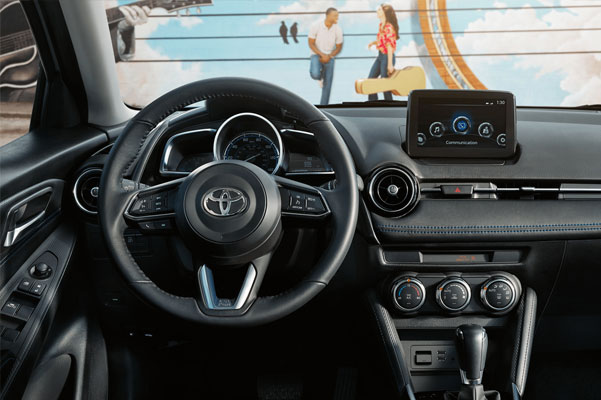 2020 Toyota Yaris Interior & Technology Features