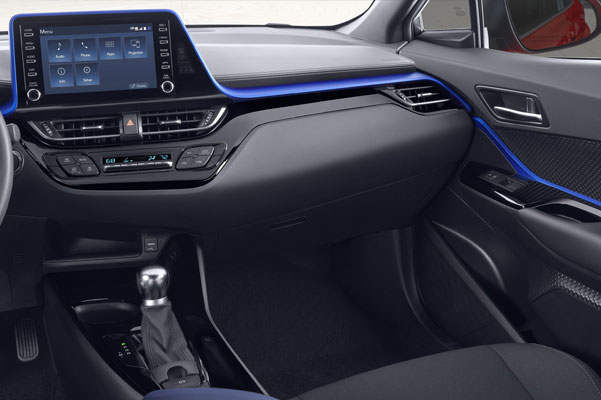 2020 Toyota C-HR Interior & Technology Features