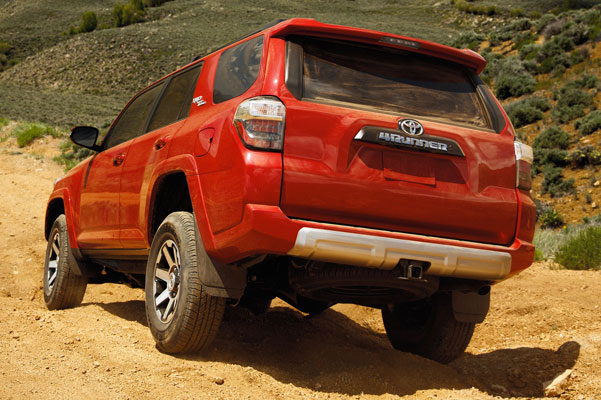 2020 Toyota 4Runner Specs & Safety Features