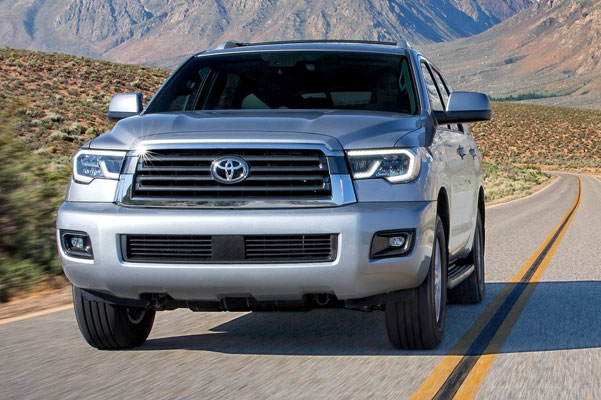 2020 Toyota Sequoia Specs & Safety Features