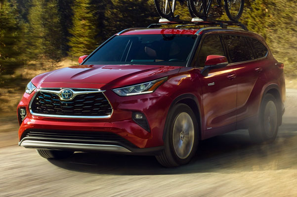 2020 Toyota Highlander Specs & Safety Features