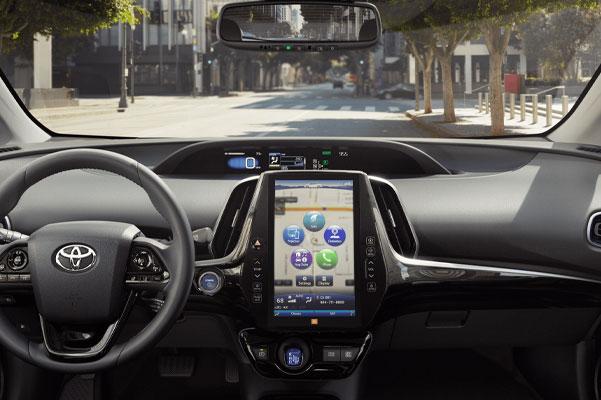 2020 Toyota Prius Interior & Technology Features