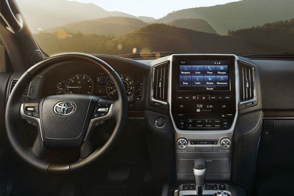 2020 Toyota Land Cruiser Interior & Technology Features