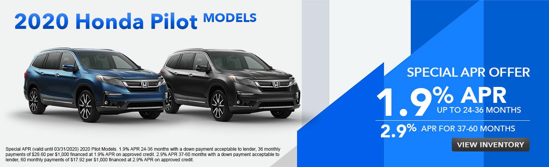 2020 Honda Pilot Models