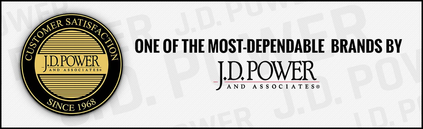 jd power one of the most dependable brands