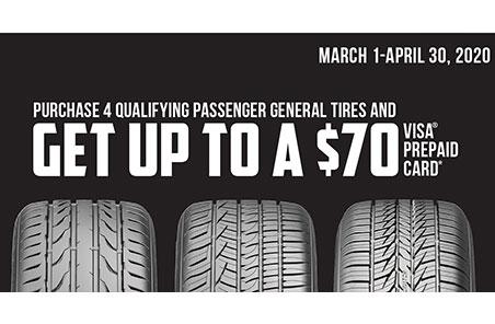 General Tires Offer