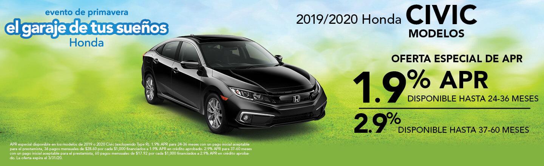 2019-2020 Honda Civic