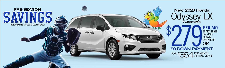2020 Honda Odyssey LX