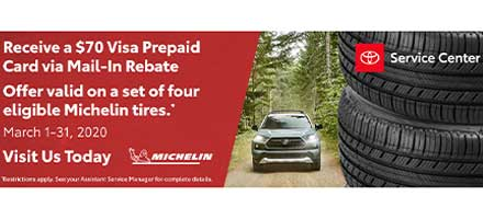 Michelin Tires Specials