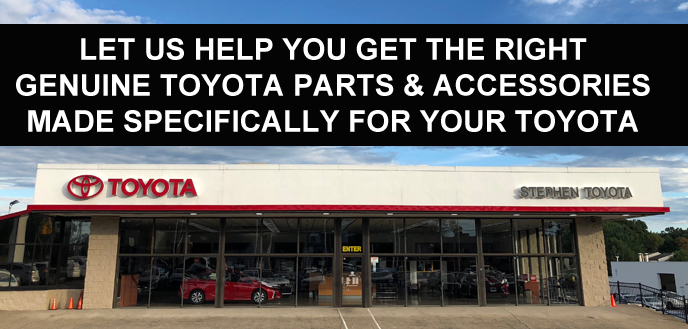 10% OFF ON ALL GENUINE TOYOTA PARTS & ACCESSO