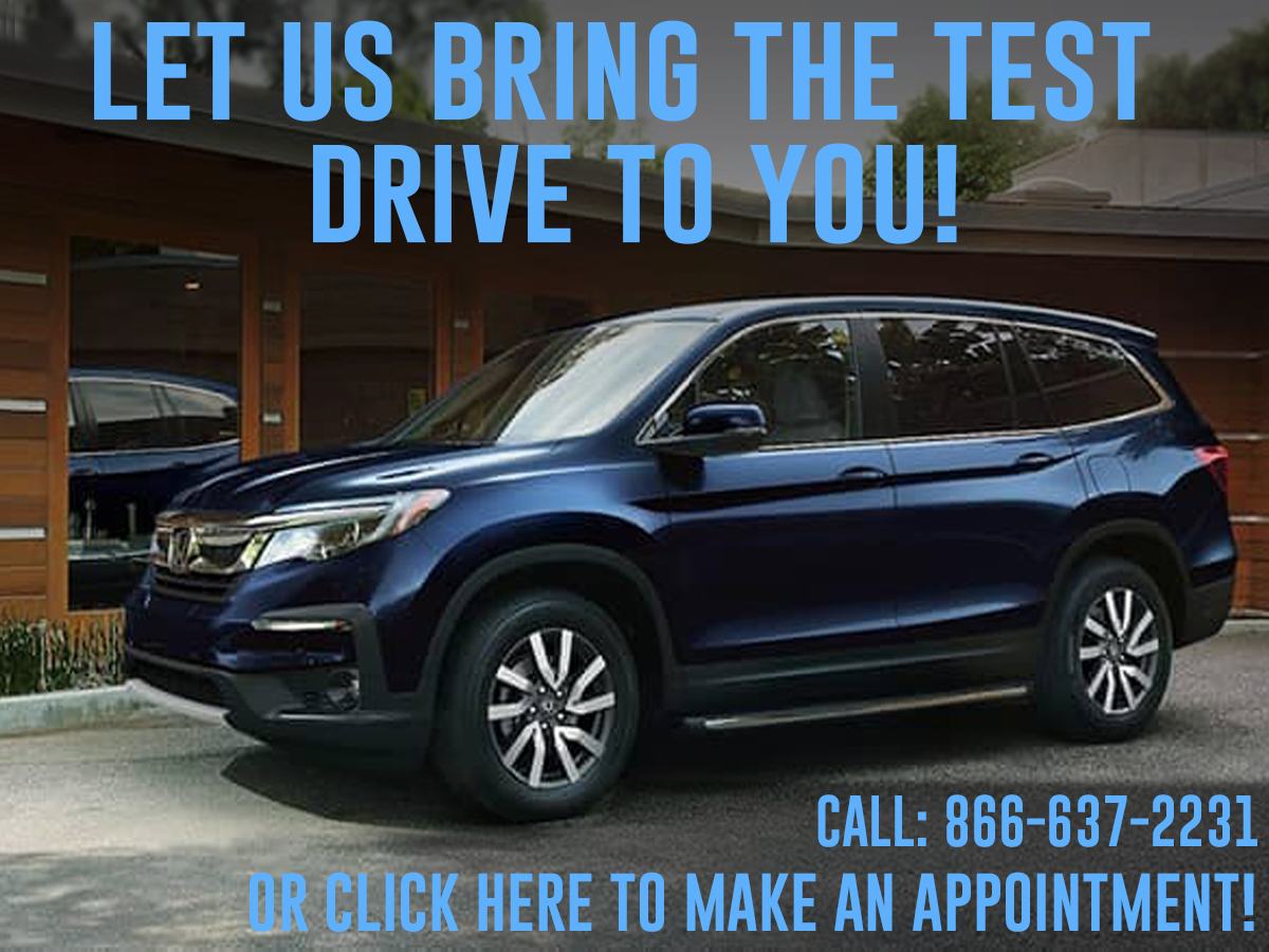 Let us bring the test drive to you