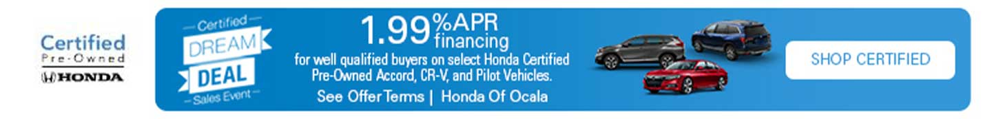 Certified Pre-Owned Hondas