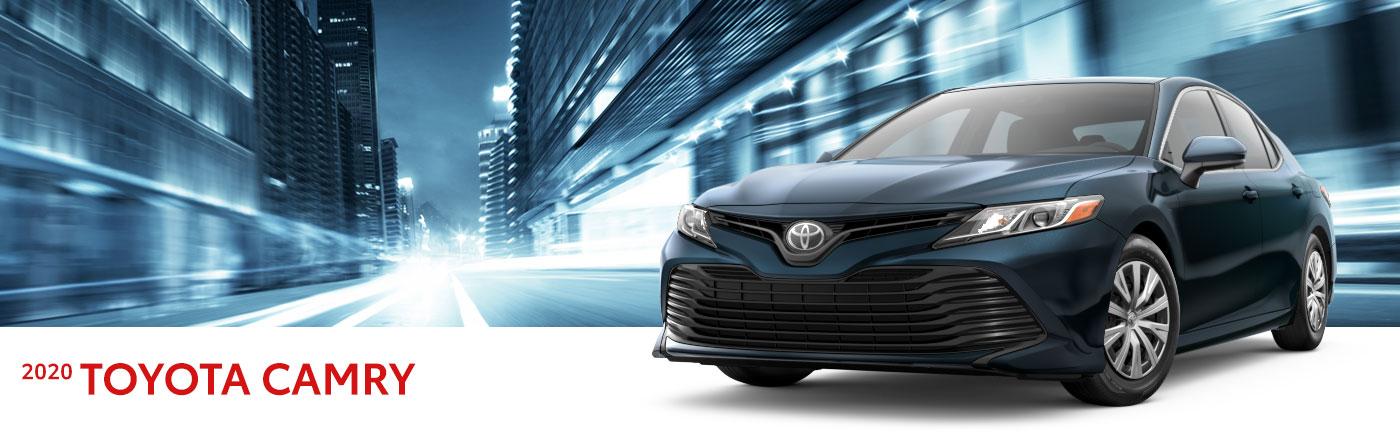 2020 toyota camry at Toyota of Renton