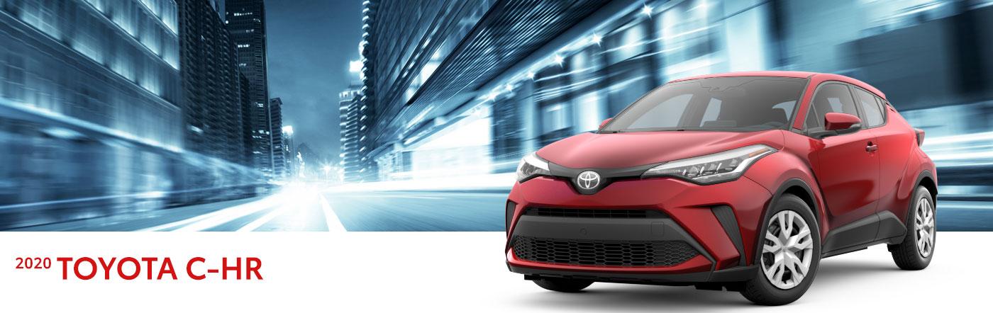 2020 toyota c-hr at Toyota of Renton