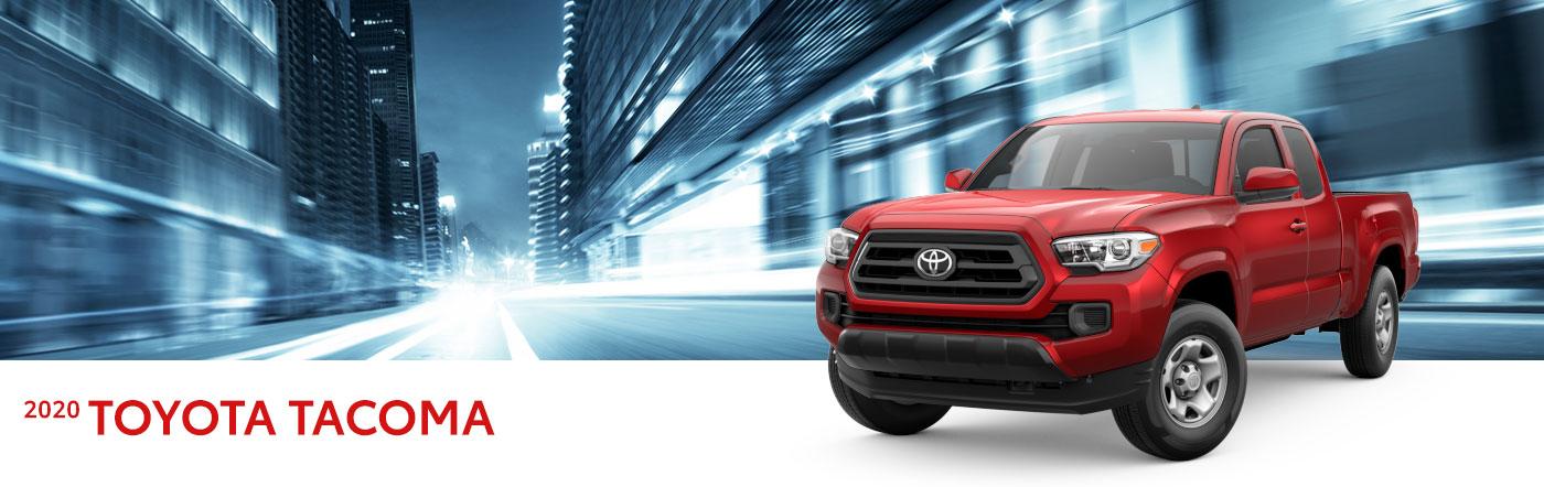 2020 toyota tacoma at Toyota of Renton