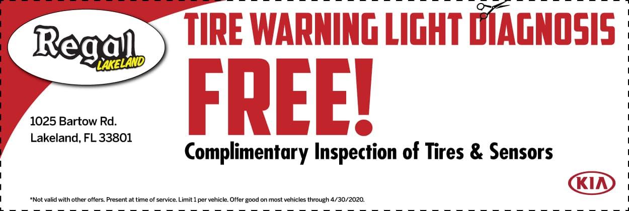 Tire Warning Light Diagnosis