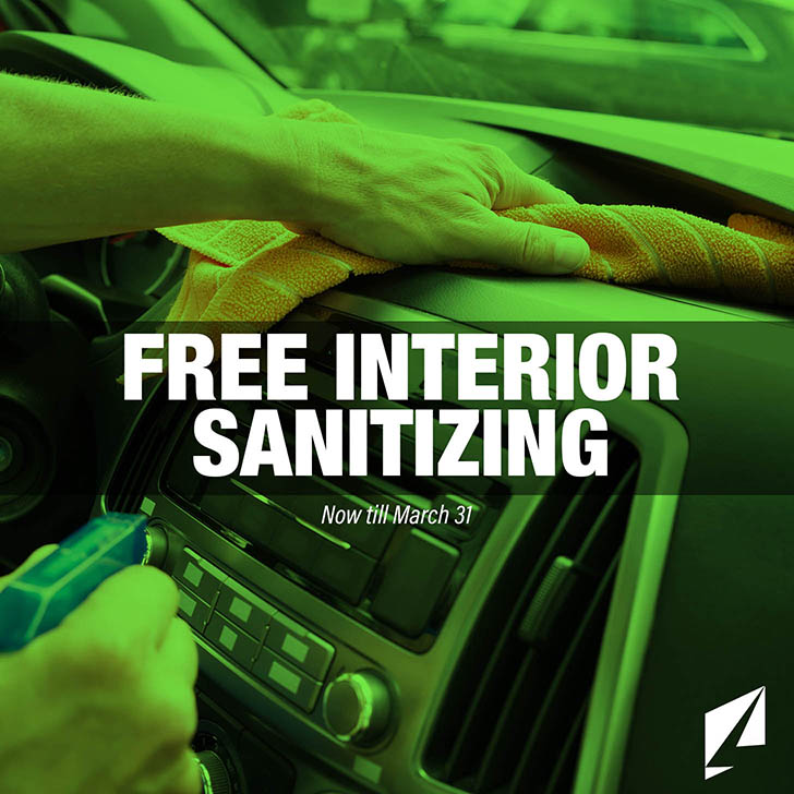 Free Interior Sanitization