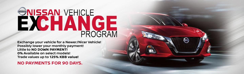 Mathews Nissan of Paris Vehicle Upgrade Program