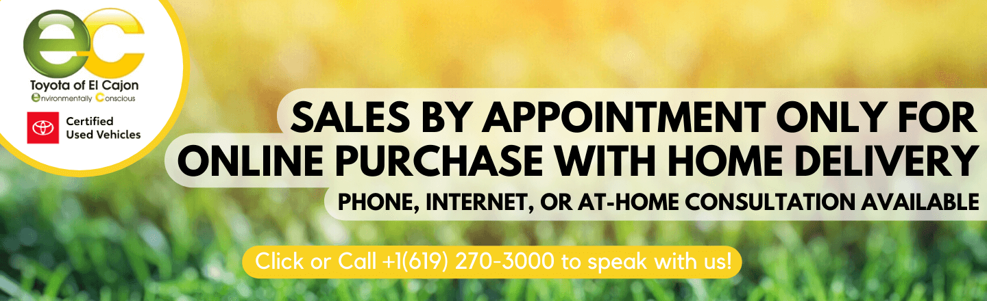 Sales By Appointment Only