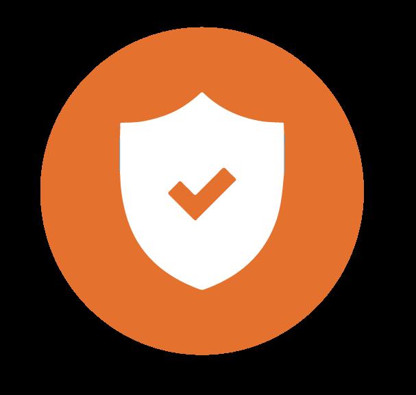 shield with check icon