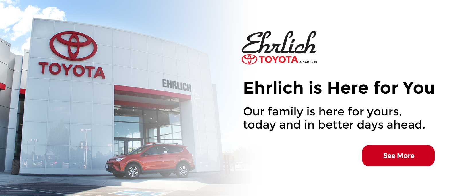 Ehrlich is Here for You