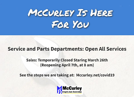 McCurley Honda is Here for you
