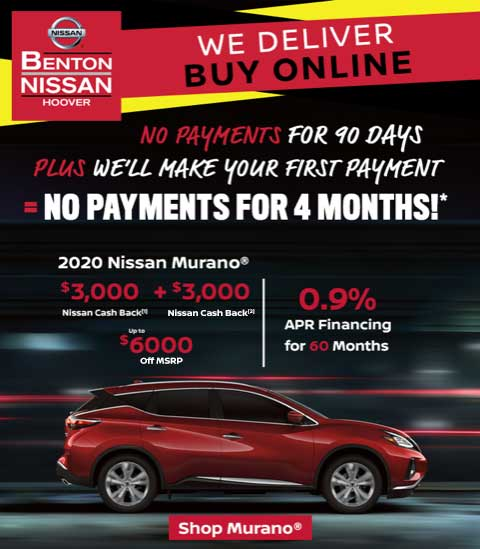 Benton Nissan of Hoover Murano Delivery