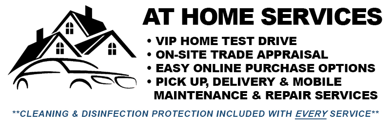 AT HOME SERVICES | Lakeland Automall VIP Test Drive, Appraisal, Delivery & Service