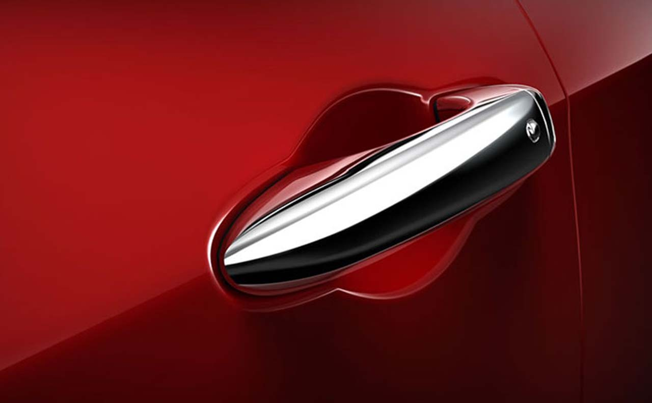 2016 dodge dart exterior door handle