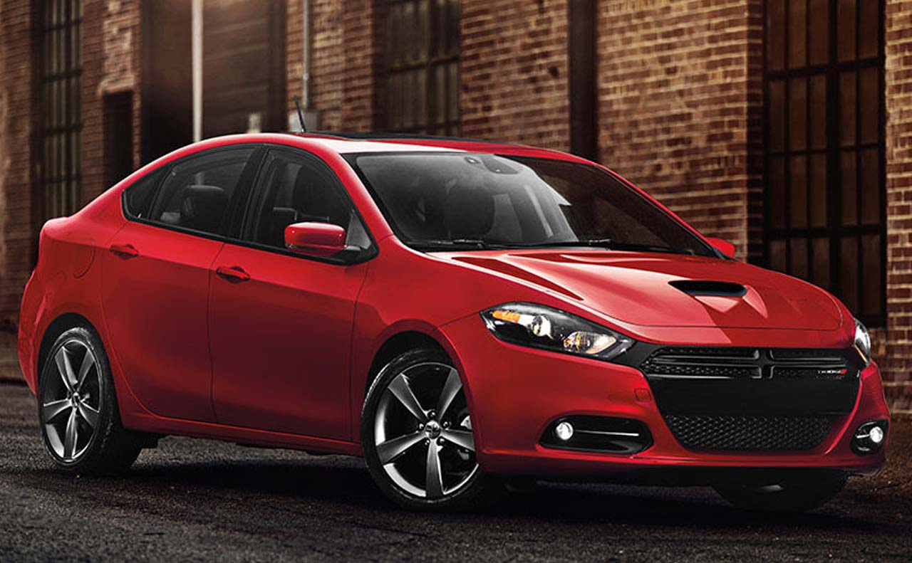 2016 dodge dart exterior right side