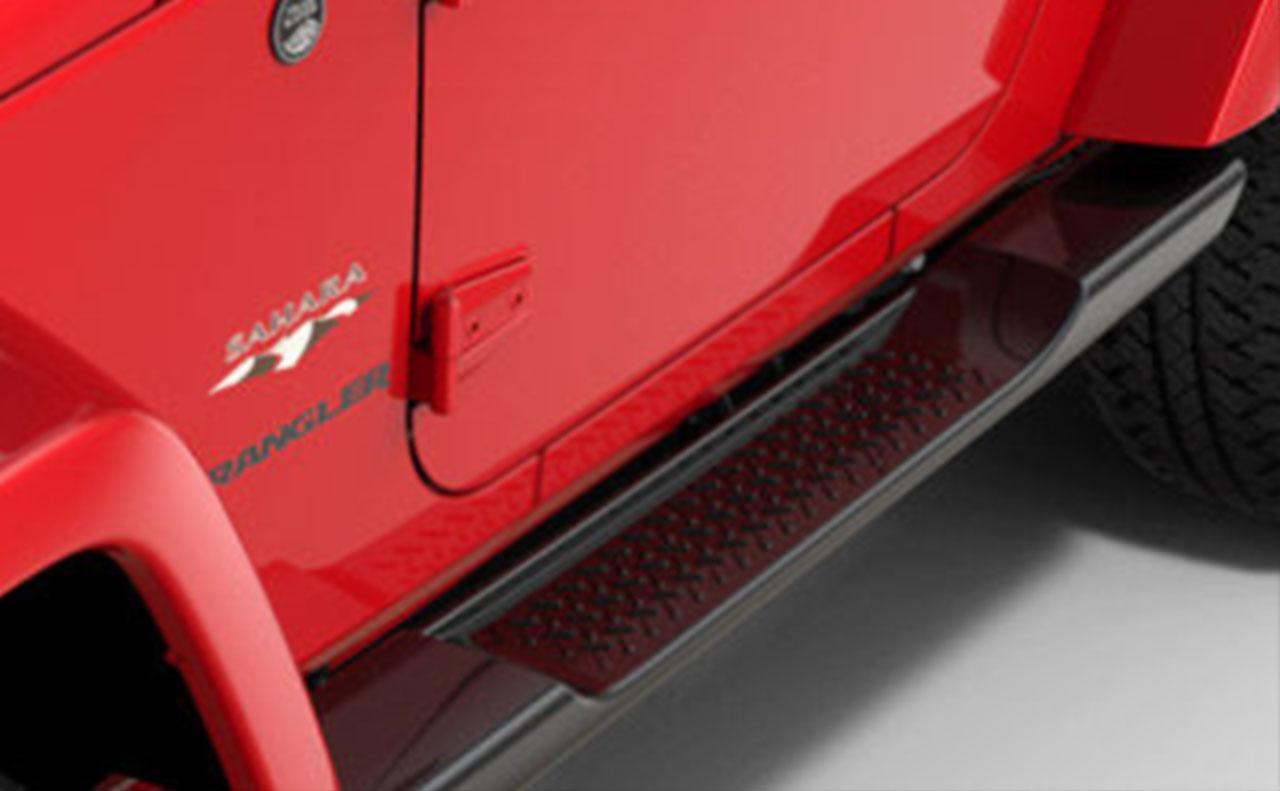 2016 jeep wrangler exterior red bottom dorr foot step