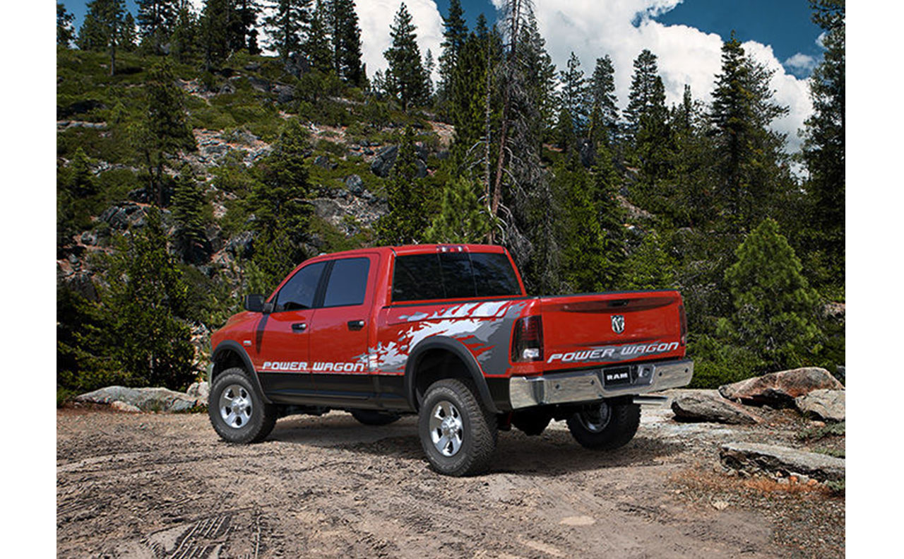 2016 ram 2500 exterior power wagon truck off road