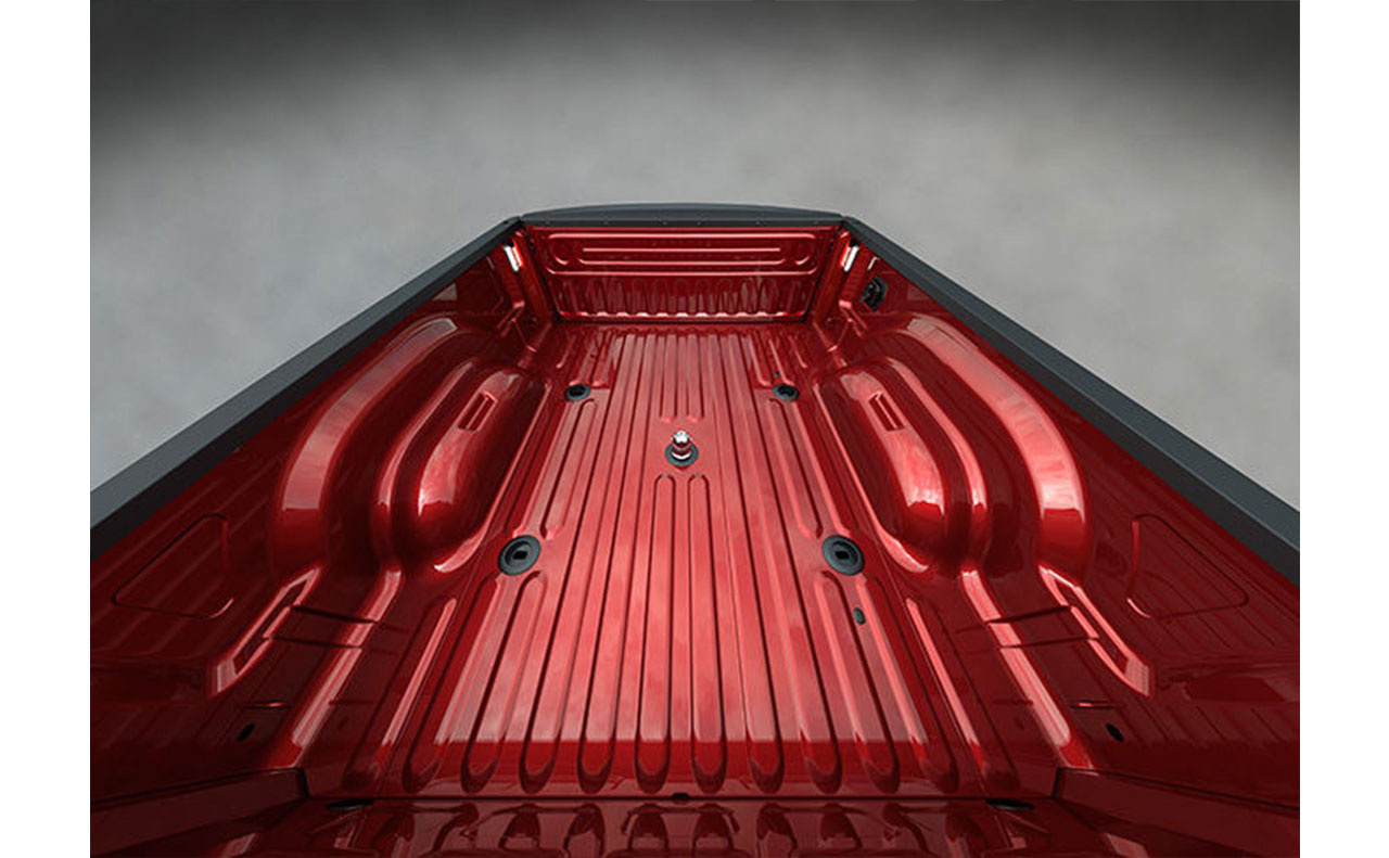 2016 ram 3500 exterior bed of truck red hitch